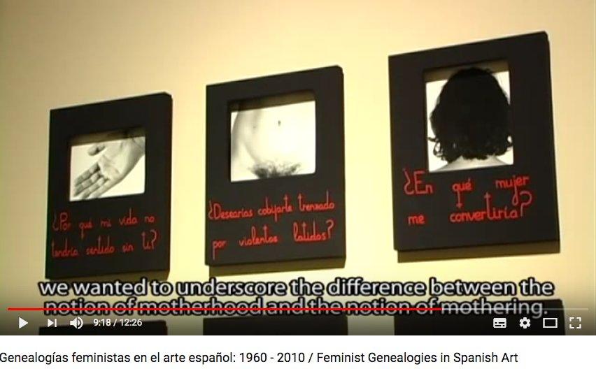 Genealogías feministas en el arte español