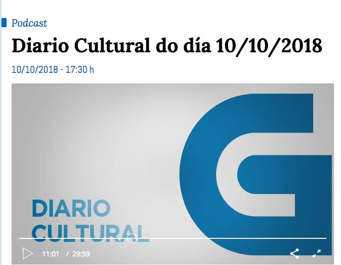 Diario Cultural 10/10/18