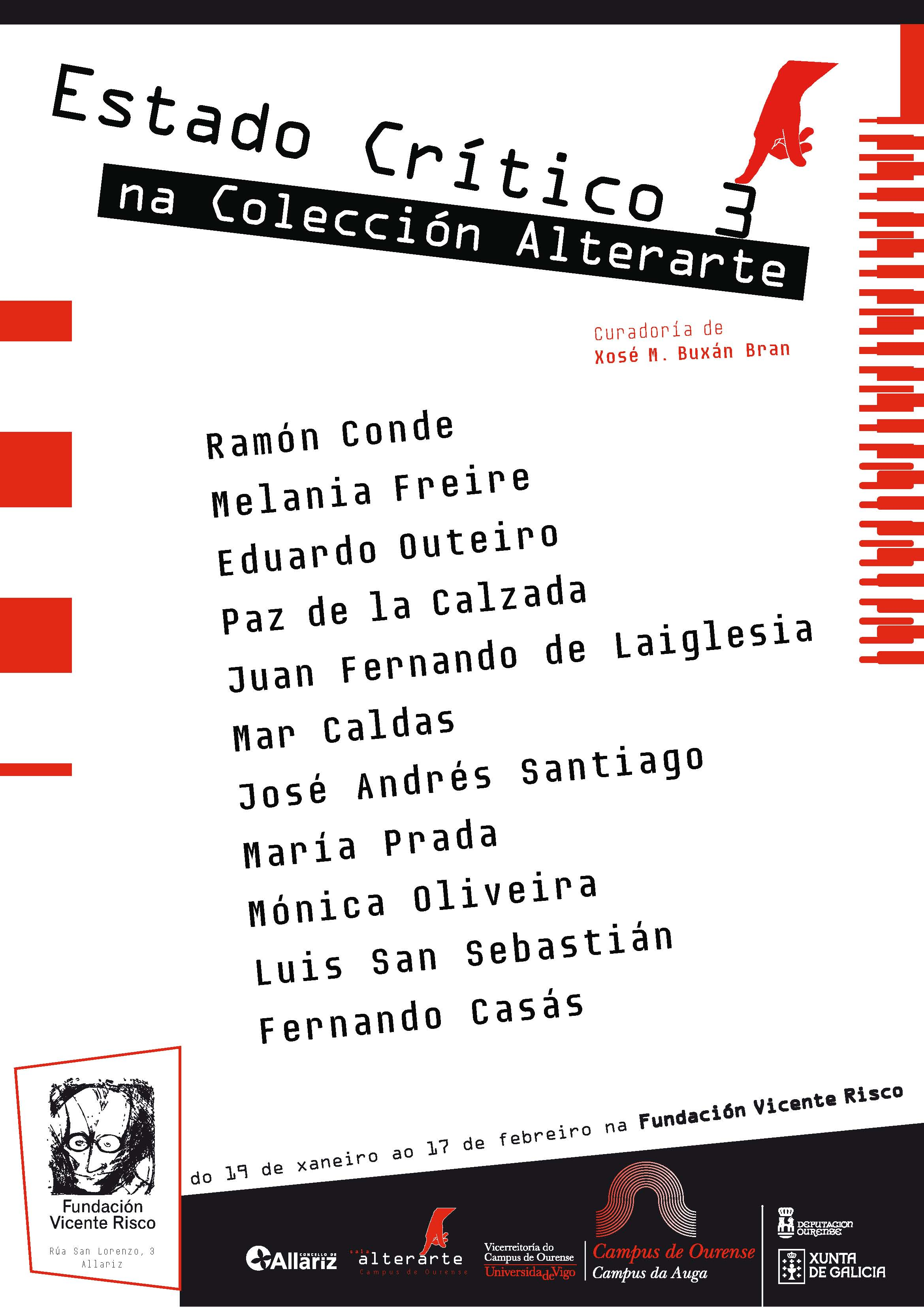 Tarjeta exposición Colección Alterarte