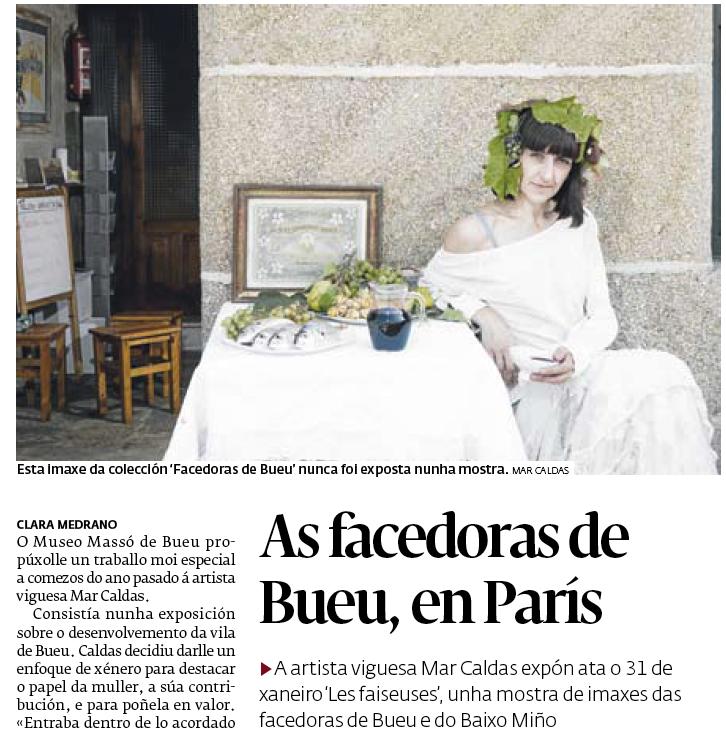 Diario de Pontevedra 26/01/19